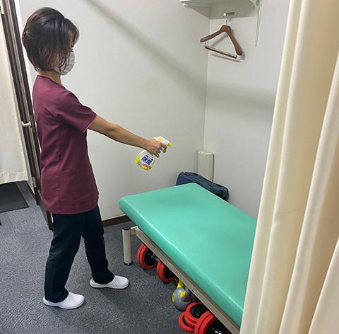 手洗い&手指消毒
